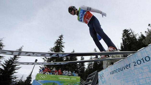 Sdruženář Aleš Vodseďálek na archivním snímku z olympijských her ve Vancouveru.