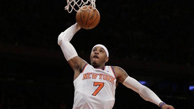 Strůjcem úspěchu Knicks byl Carmelo Anthony.