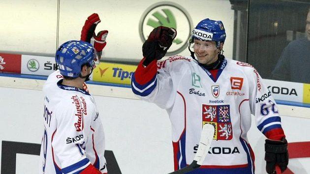 Jiří Tlustý (vlevo) na MS nakonec nepojede.
