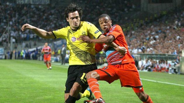 Loic Rémy (vpravo) ještě v dresu Olympique Marseille.