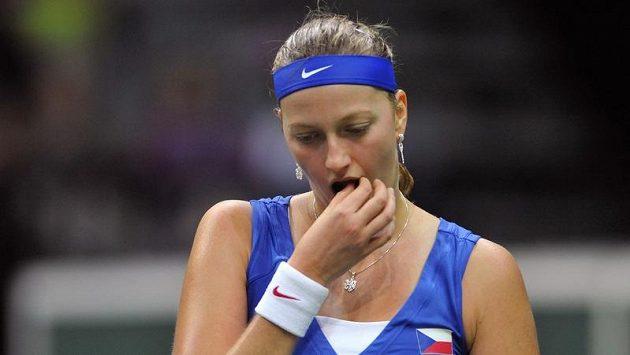 Petru Kvitovou (na snímku) vystřídala v pozici nejlepší tenistky roku Serena Williamsová.