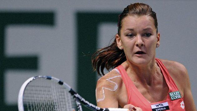 Polská tenistka Agnieszka Radwaňská útočí na 11. titul v kariéře.