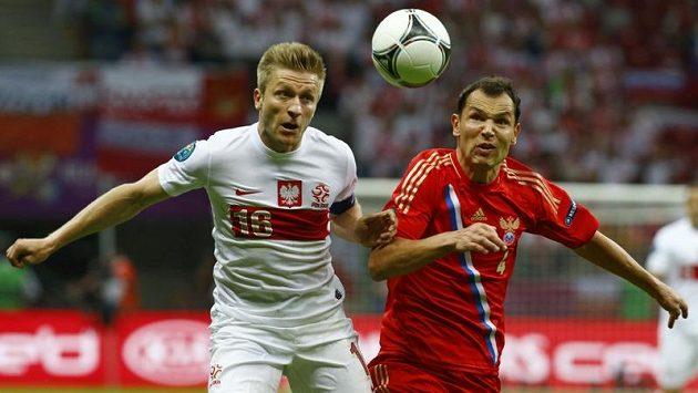 Ruský obránce Sergej Ignaševič (vpravo) patřil mezi nespokojené.