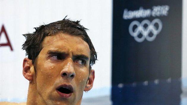 Michael Phelps překvapivě na medaili nedosáhl