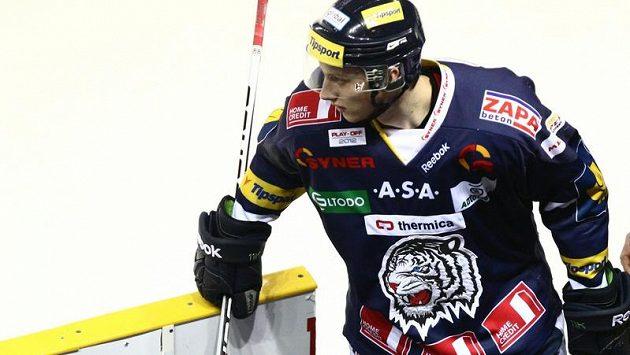 Liberecký Michal Bulíř se blýskl proti Českým Budějovicím hattrickem.