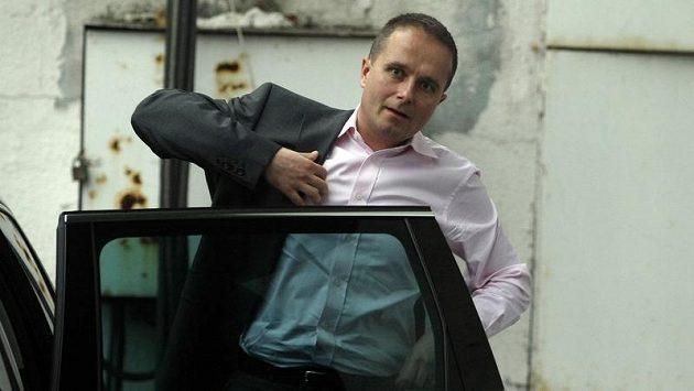 Bývalý předseda disciplinární komise FAČR Jiří Golda přijel ve středu na Strahov naposledy.