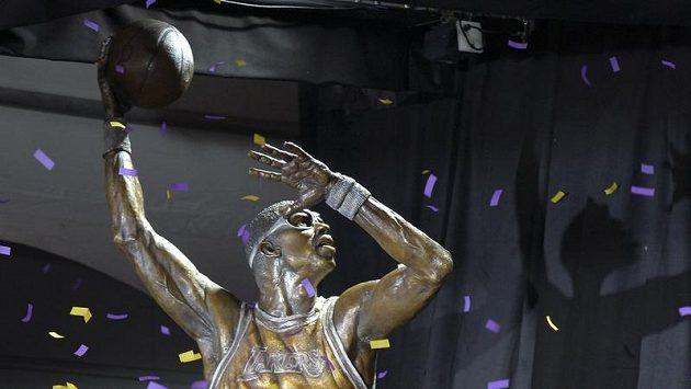 Abdul-Jabbar se dočkal bronzové sochy.