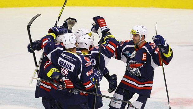 Hokejisté Chomutova na ilustračním snímku.