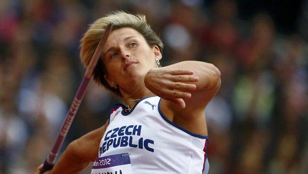 Oštěpařka Barbora Špotáková na olympijských hrách v Londýně