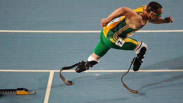 Jihoafrický tělesně postižený sportovec Oscar Pistorius