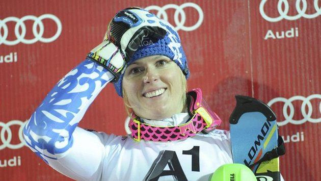 Slovenská lyžařka Veronika Velez-Zuzulová ovládla paralelní slalom v Mnichově.