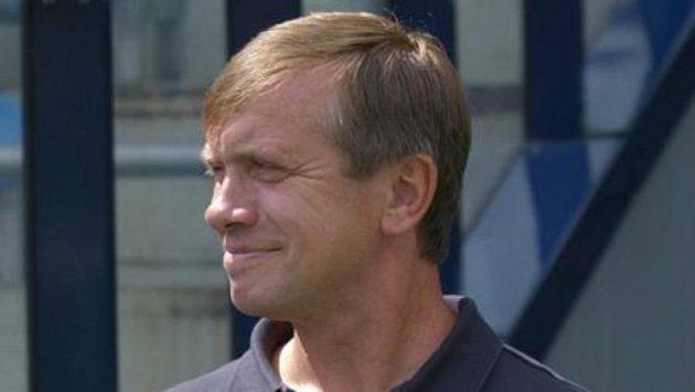 Vkvětnu odvolaný trenér Baníku Erich Cviertna.