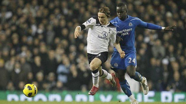 Luka Modrič v dresu Tottenhamu.