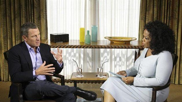 Lance Armstrong v pořadu Oprah Winfreyové.