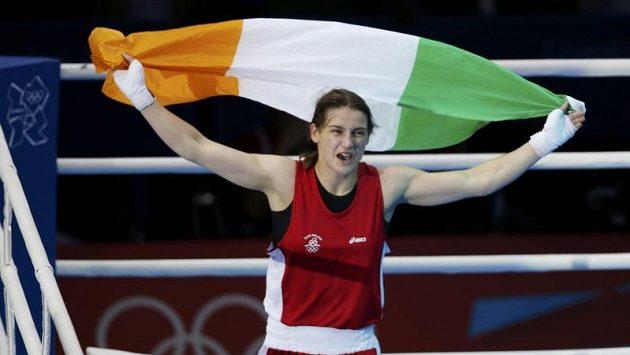 Irská olympijská vítězka v kategorii do 60 kg Katie Taylorová