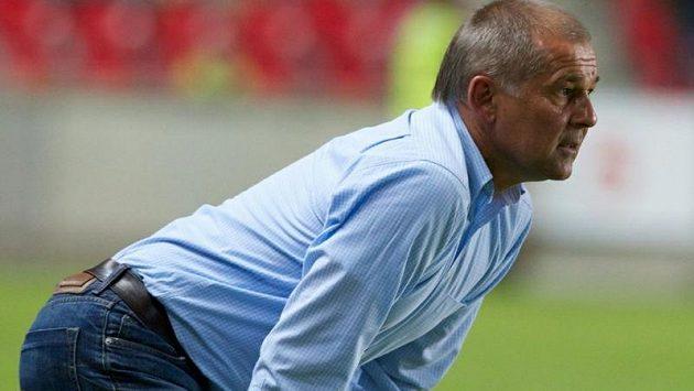 Trenér fotbalistů Slavie Petr Rada nese vyřazení v poháru hodně těžce.