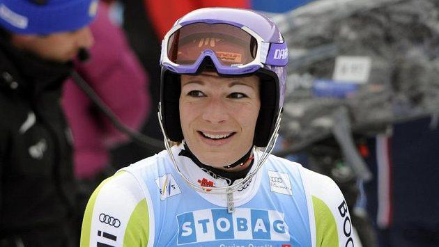 Německá sjezdařka Maria Höflová-Rieschová.