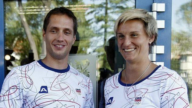 Oštěpaři Vítězslav Veselý a Barbora Špotáková