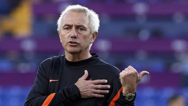Nizozemský trenér Bert van Marwijk u národního týmu skončil