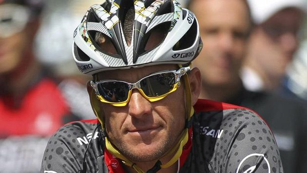 Bývalý sedminásobný vítěz Tour de France Lance Armstrong.
