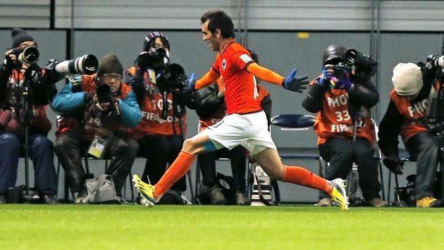 Argentinec César Delgado byl nejlepším hráčem utkání.
