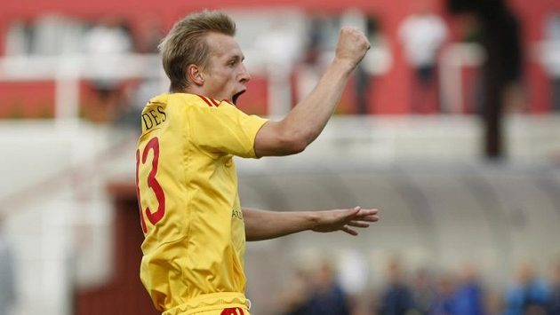 Na podobnou radost ze vstřelenéího gólu si musel nechat Tomáš Berger nechat zajít chuť, i když proti Slavii i před tím proti Teplicím obrovské šance měl.
