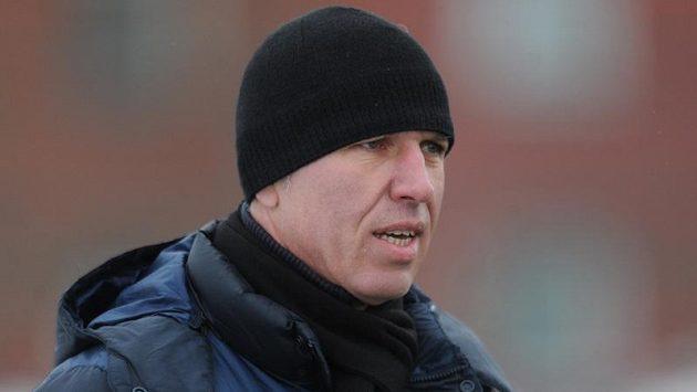 Liberecký trenér Jaroslav Šilhavý během utkání Tipsport ligy s Jabloncem.