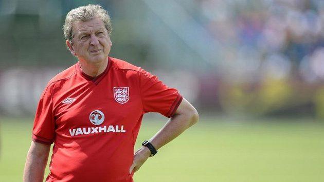 Trenér fotbalistů Anglie Roy Hodgson