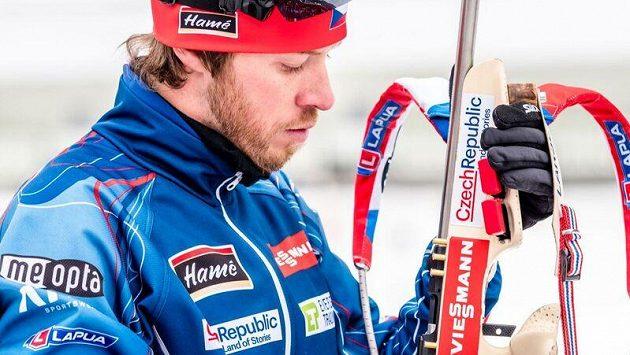 Jaroslav Soukup do závodů v Ruhpoldingu nezasáhne. V ohrožení je i jeho start na olympijských hrách v Pchjongčchangu.