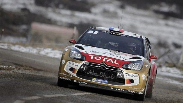 Sebastien Loeb vyhrál letošní rallye Monte Carlo.