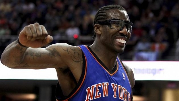 Basketbalista New Yorku Knicks Amare Stoudemire