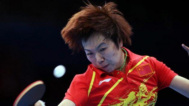 Čínská stolní tenistka Li Siao-sia vybojovala olympijské zlato ve dvouhře