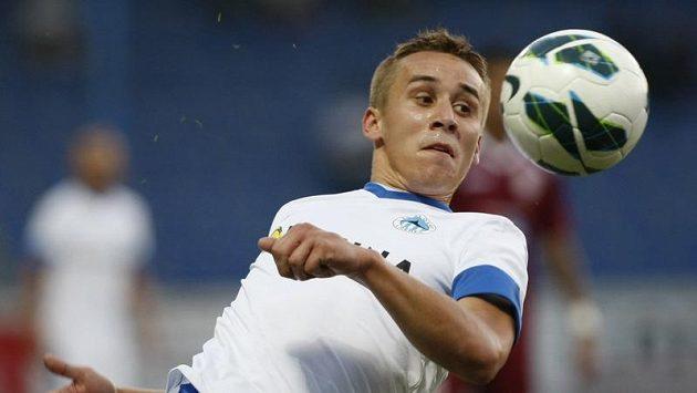 Josef Šural se po hattricku do sítě pražské Dukly trefil i proti Kluži, ale jeho gól Liberci k postupu nestačil