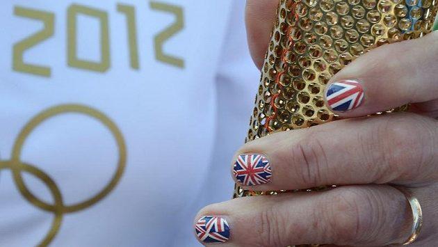 Olympijská pochodeň pro hry v Londýně
