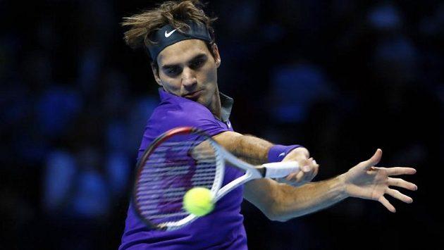 Švýcarský tenista porazil na Turnaji mistrů v Londýně Janka Tipsareviče ze Srbska ve dvou setech.