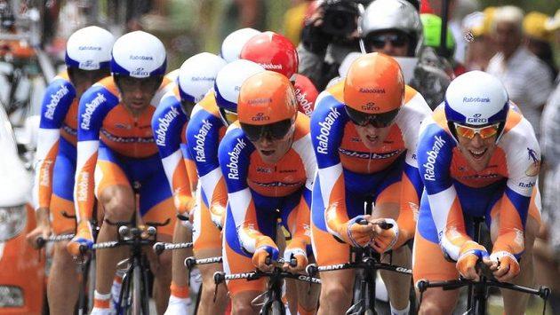 Cyklisté stáje Rabobank. Ilustrační foto.