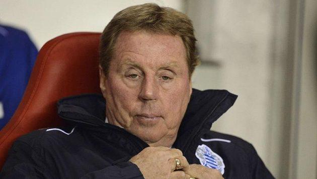 Trenér Queens Park Rangers Harry Redknapp
