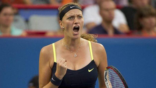 Petra Kvitová na turnajích v USA