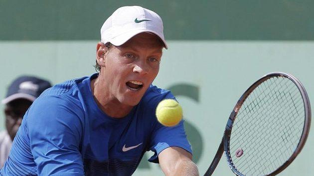 Tomáš Berdych na Roland Garros
