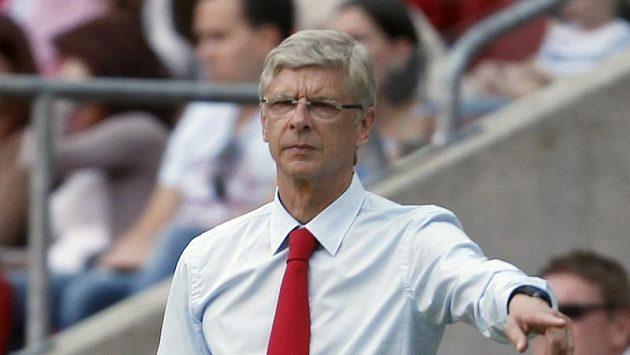 Trenér Arsenalu Arséne Wenger už sedm let nedosáhl s klubem na žádnou trofej.