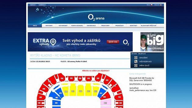 Systém prodeje vstupenek na zápas Kladna s Brnem zkolaboval.