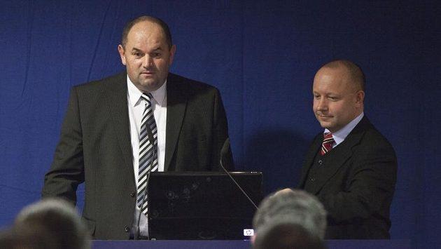 Šéf FAČR Miroslav Pelta (vlevo) a Petr Fousek