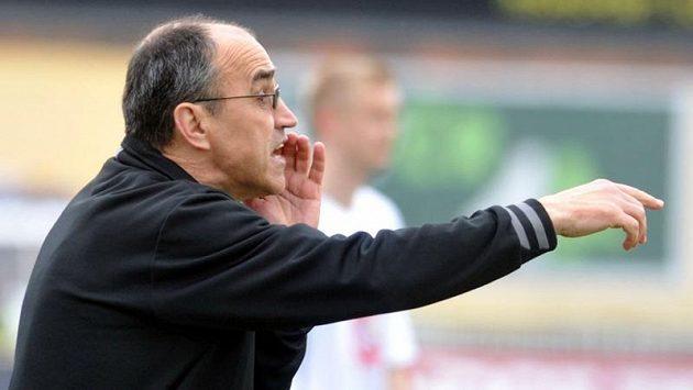 Hradecký trenér Václav Kotal.