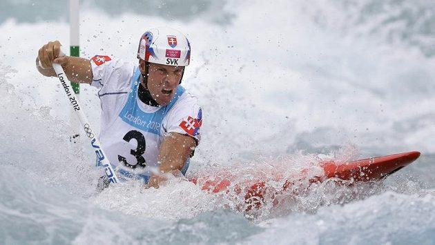 Legenda slovenského vodního slalomu Michal Martikán.