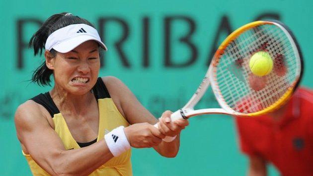 Japonská tenistka Kimiko Dateová-Krumová.