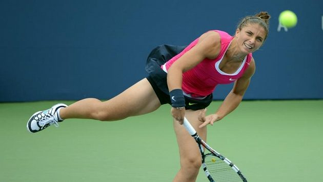 Sara Erraniová se probojovala na US Open do semifinále.