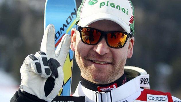 Klaus Kröll po finálovém závodu ve Schladmingu.
