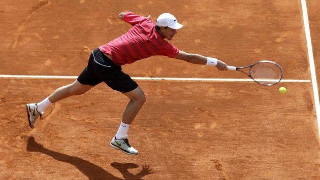 Tomáš Berdych ve čtvrtfinále v Monte Carlu proti Andy Murraymu.