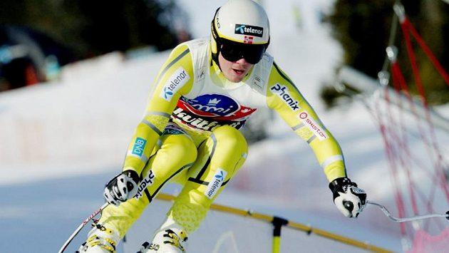 Norský lyžař Kjetil Jansrud.