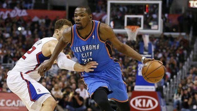 Hvězdou utkání byl Kevin Durant, který dovedl tým Thunder k výhře 32 body.